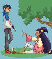 PKMN: Under the tree by Zinoman
