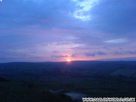 Keighley Sunset by darlosworld