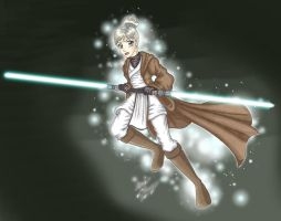 K2-Mar D.-Jedi Robes EPIC by MaskedSugarGirl