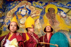 Buddhist Child Monks I by poraschaudhary