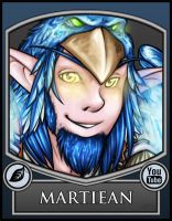 BC2013 Badge Martiean by Noxychu
