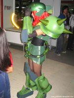 Mobile Suit Girl Zaku 5 by polidread