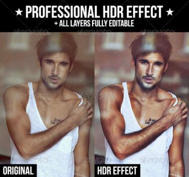 Professional HDR Effect Action by xgfxws