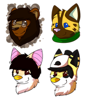 Headshots Examples, Batch 1 by CollectionOfWhiskers