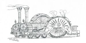 Locomotive #5: The Siamese by ArdsleyTank