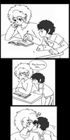 South Park - Ike x Kyle thanks for the treat by Cloud-Kitsune