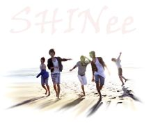 the SHINee sea wallpaper 1 by Rio-Osake