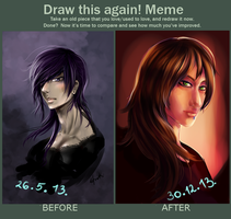 Meme, Before And After |Asano| by Asano-nee