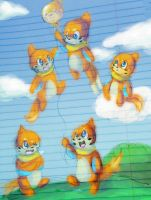 Buizel Balloon by Chibixi