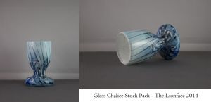 Glass Chalice Stock Pack by The-Lionface