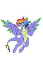 Rainbow Spike by LurkingTyger