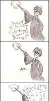 HP: Accio, Birthday Cake! by bagasuit091