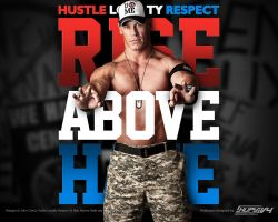 Rise Above Hate John Cena Wallpaper by AlphaMoxley95