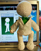 Doc Scratch Crochet Plush by First-Mate-Kate