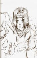 Itachi Sketch by drathe
