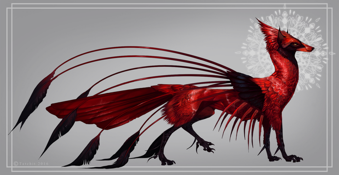 Cardinal Feonix by NukeRooster