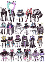 Closed- PastelGoth adopts by Guppie-Adopts