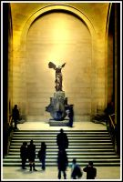 Winged Victory of Samothrace by fake-x