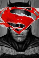 Batman V Superman:  Dawn Of Justice teaser poster by Alexbadass