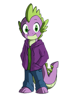 Anthro Spike by NolyCS