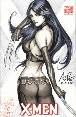 X-23 Blank Commission 1 by Artgerm