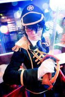 Fushimi Saruhiko Military by Dropchocolate