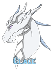 Dragoniss Headshot - Ice by Naeda