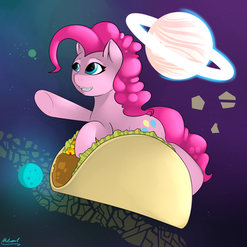 Taco Space Program by malamol