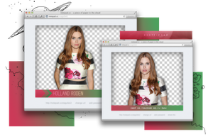 Pack Png 1036 // Holland Roden by ExoticPngs