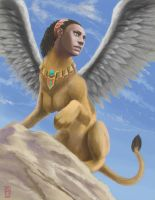 Sphinx by scuttered
