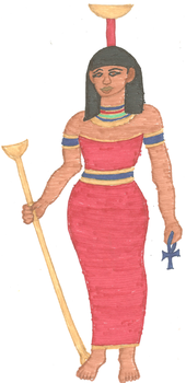 Nephthys by kaleidescopiclee