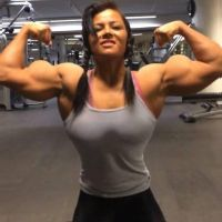 Sophie-muscled2 by Turbo99