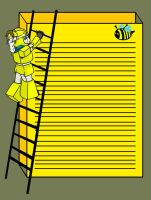 Bumblebee stationary page by Transformergirl