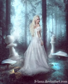 The White Queen by S-Lana