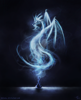 Smoke Dragon by Shirvell