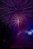new years Fire works the Forks by yamiyalo