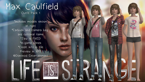 LiS - Max Caulfield - Outfit Pack 1 by angelic-noir