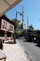 Istanbul - View on Sultan Ahmet Camii by puppeteerHH