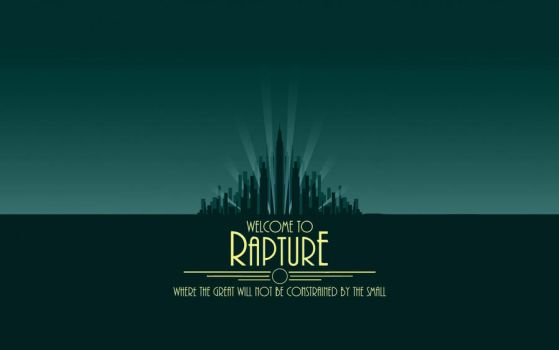 Rapture Wallpaper by SirArnoldRimmer