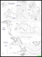 Creature Feature Sketched 3 by SizzyBubbles