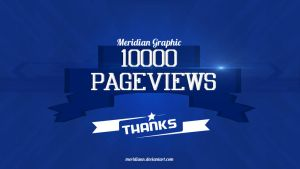 10000 Pageviews by Meridiann