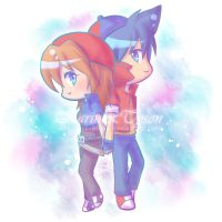 Commission - Karin and Tyson by 666azarashi666