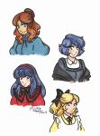 Miraculous Ladybug: The March Sisters by Kiyomi-chan16