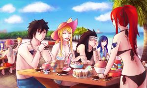 Summer Ice Cream Party by Ami-Magane