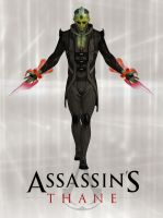 Assassin's Thane by ImWithStoopid13