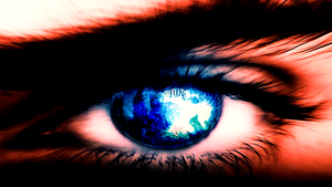 Eye (Wallpaper) by Hardii