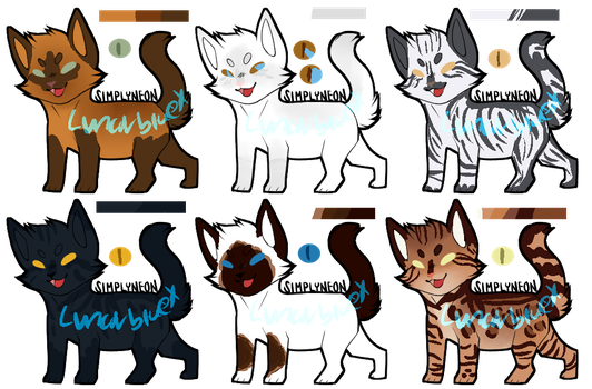 Southclan Adopts .:{DtA Open}:. by Lunarbluex