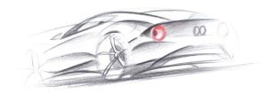 sportscar sketch by dyrborgdesign