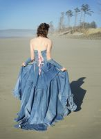 Back of the Jean Ballroom Gown by Temperate-Sage