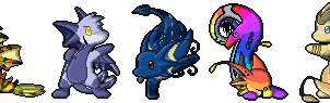 Mini Draik Pixels by aquamizuko